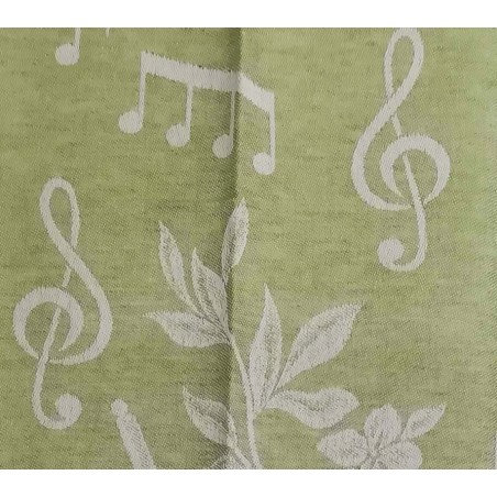 Linen Blend Tea Towel With...