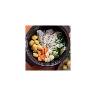 Cooking pot with lid - Black