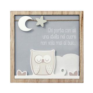 "Square  ""Owl"" - Wedding..."