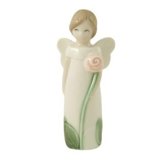 Figurine Angel With Flower...