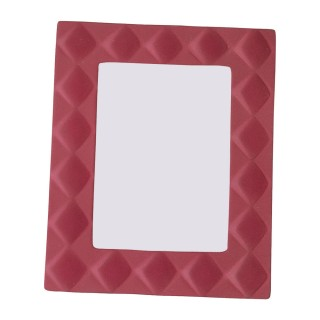 Red Ceramic Photo Frame