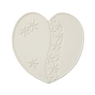 Heart Shaped Ceramic Trivet...