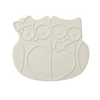 Trivet Owls In Ceramic -...