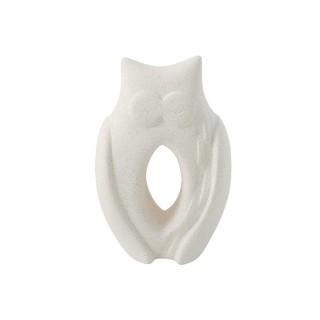 Stone Effect Ceramic Owl -...