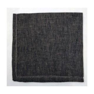 Pure Linen Napkin - Black