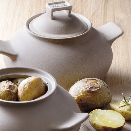 Potatoes Cooking Pot