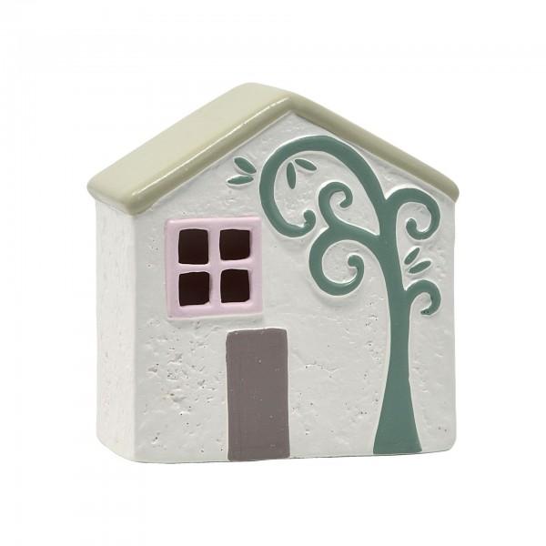 Ceramic House With Led