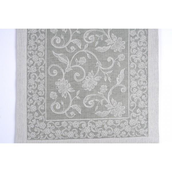 Mixed Linen Ramages Design Centerpiece