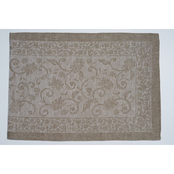 Centerpiece In Pure Linen Ramages Design