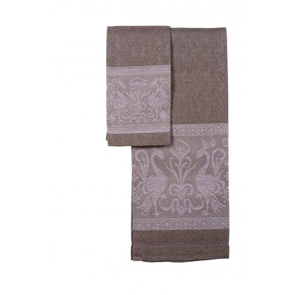 Pair of Pure Linen Towels Grifo Design