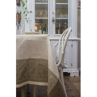 Pure Linen Tablecloth With...